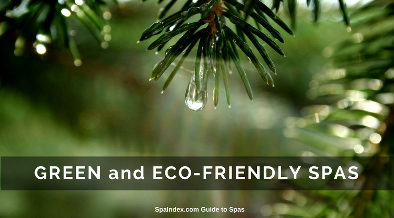 Find Green and Eco Friendly Spas