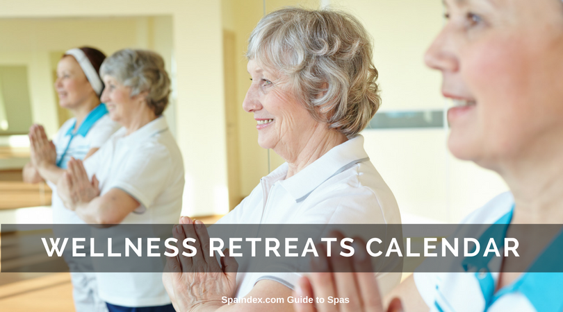 Find Wellness Retreats - Calendar