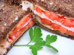 Lake Austin Spa Grilled Turkey Cristo Sandwich