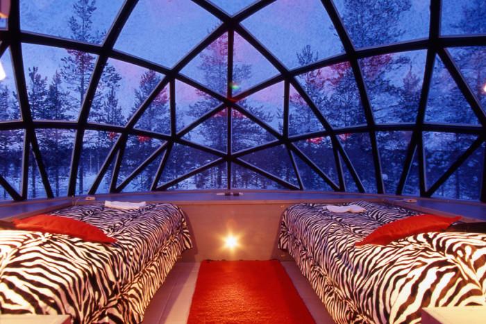 Hotel Kakslauttanen Finland Glass Igloos