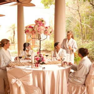 Houstonian Spa Bridal Party