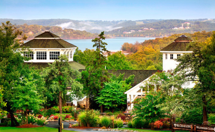 Big Cedar Lodge Spa Marina Branson Missouri