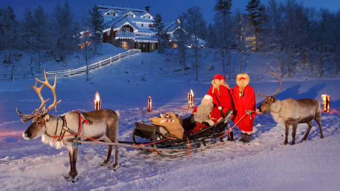 Santa's House at Kakslauttanen Finland