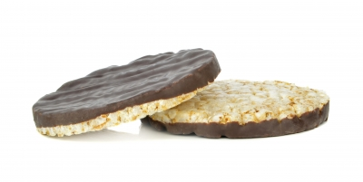 Chocolate Dipped Rice Cakes