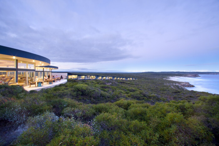 Southern Ocean Lodge at Dusk - Kangaroo Island