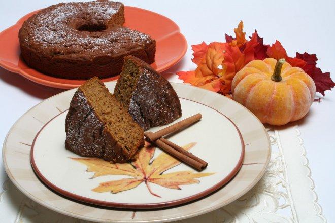 Fat Free Pumpkin Spice Cake