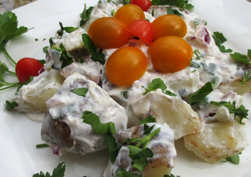 fat free potato salad