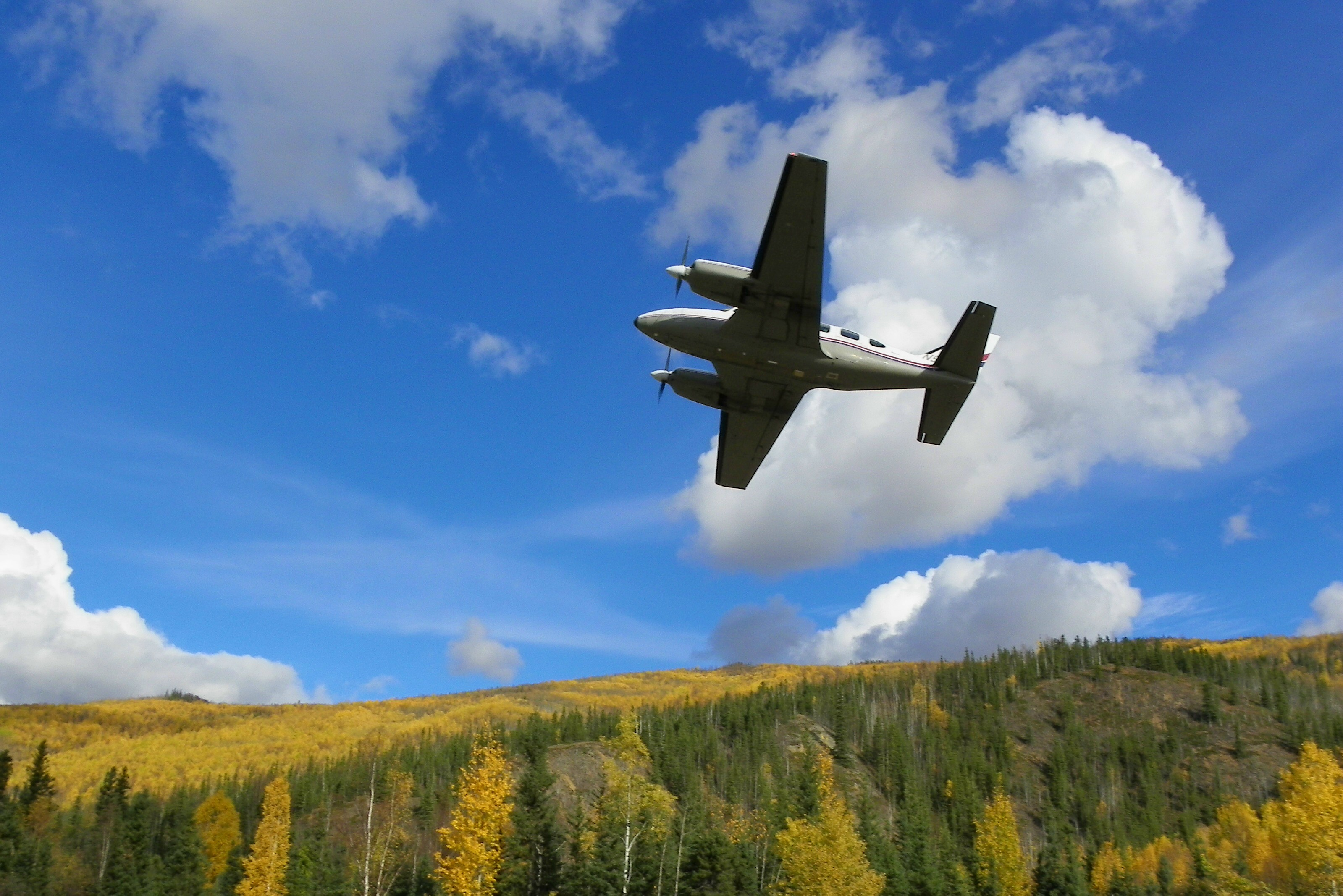 Chena Hot springs Airplane