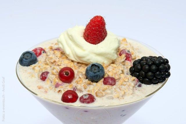 muesli - cold oatmeal