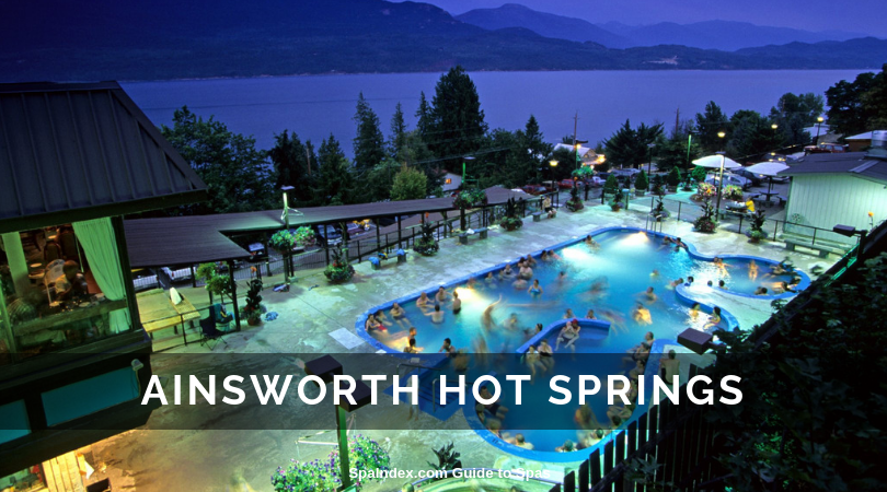 Ainsworth Hot Springs BC Canada