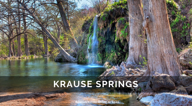 Krause Springs Hill Country Texas