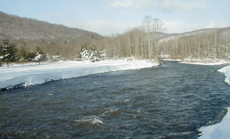 Esopus Creek - Copperhood Retreat & Spa, Catskill Mountains, New York