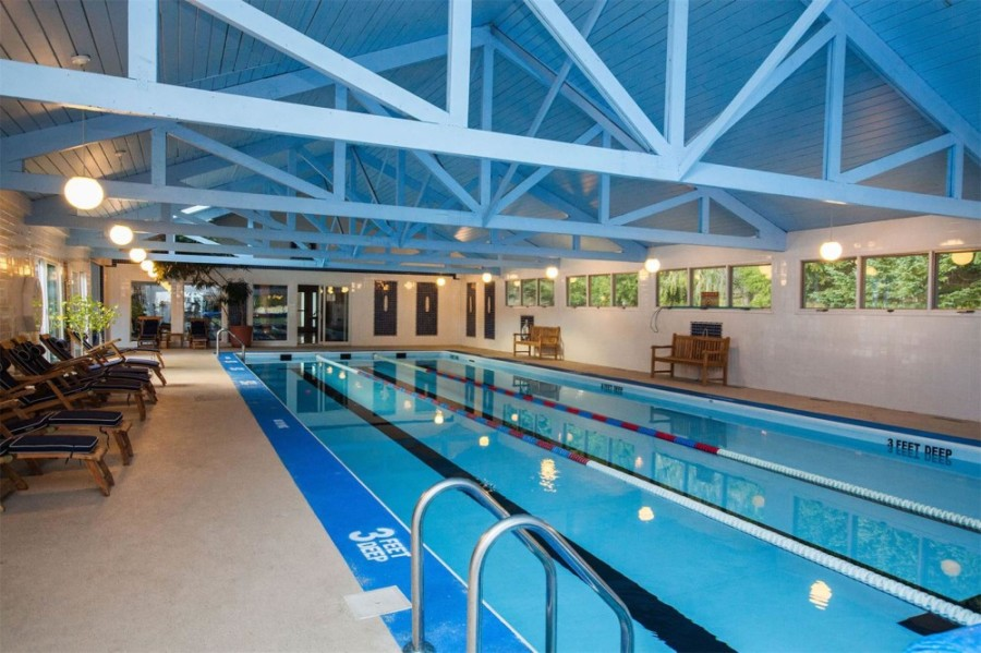 Indoor Pool - Copperhood Retreat & Spa, Catskill Mountains, New York