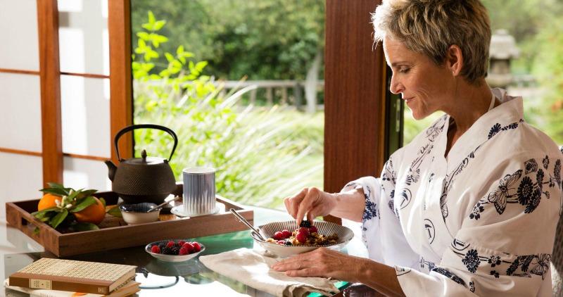 Nourishing Organic Cuisine - Golden Door Spa