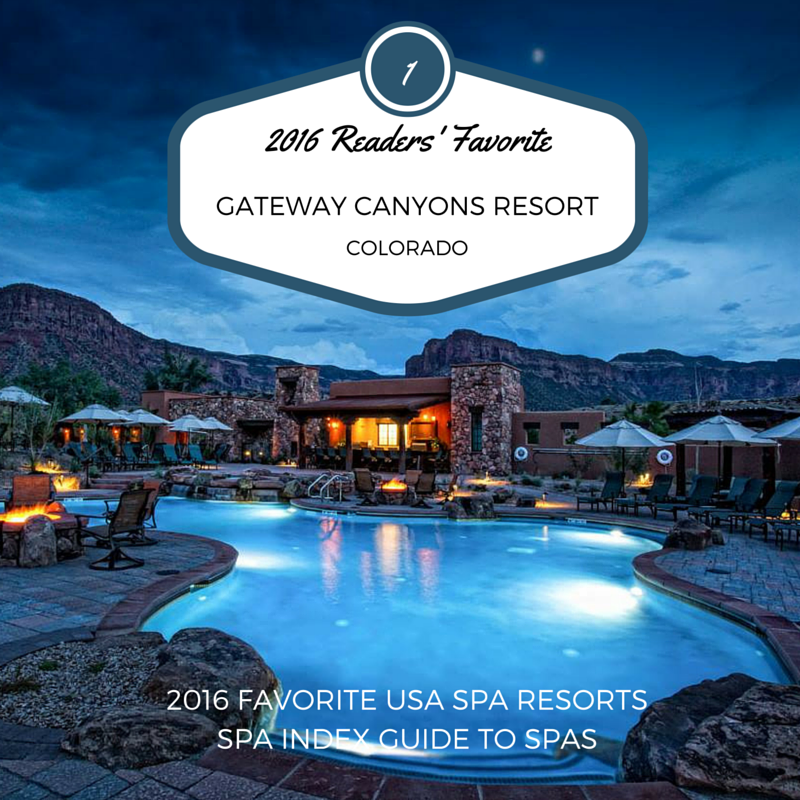 2016 favorite usa spa resorts winners list