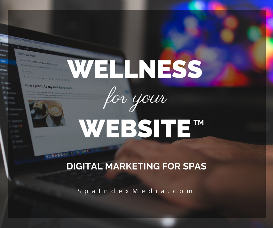 Digital Marketing for Spas