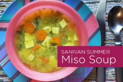 Sanivan Summer Miso Soup