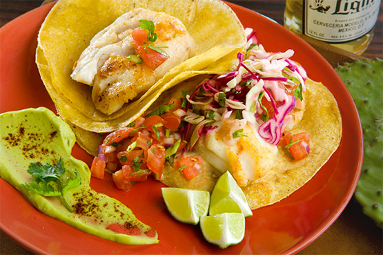 Red Mountain Sonoran Fish Tacos