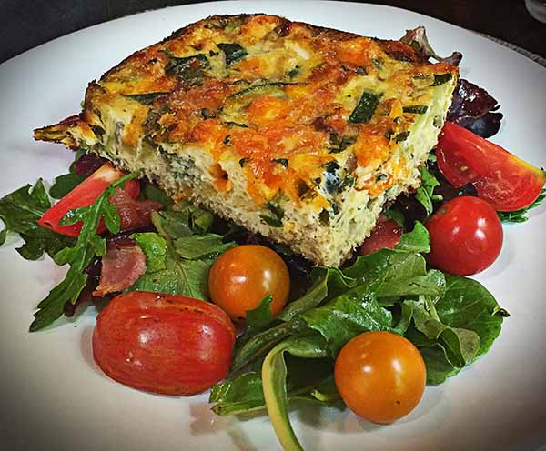 Skyterra Vegetable Quinoa Fritatta