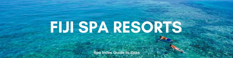 Best Fiji Spa Resorts