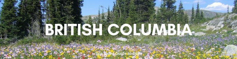 Best Spas, Spa Resorts and Retreats in British Columbia BC Canada