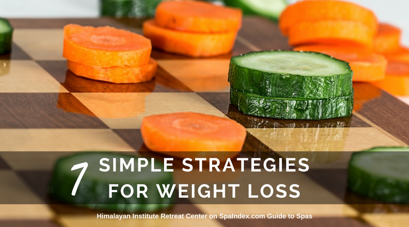 7 simple strategies for weight loss