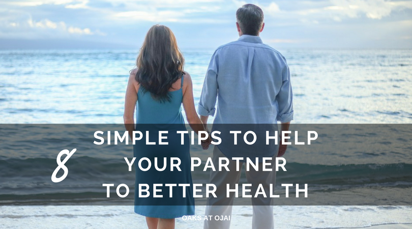 8 SIMPLE TIPS TO HELP YOUR PARTNER TO BETTER HEALTH