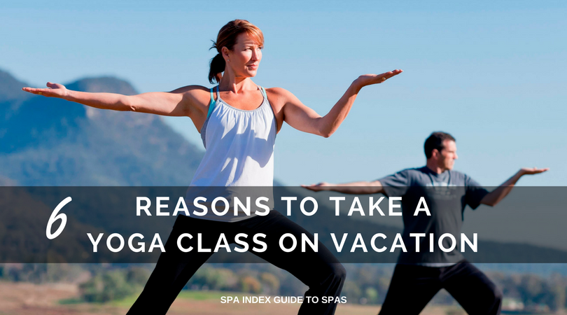 yoga on vacation