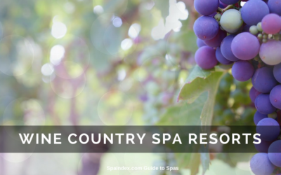 Best Wine Country Spa Hotels and Resorts in the USA