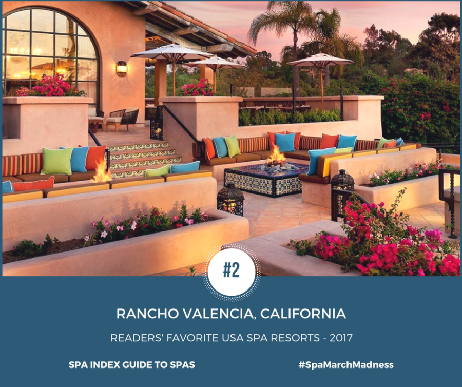 Favorite usa spa resorts 2017 winners list spa march for Best spa retreats in usa