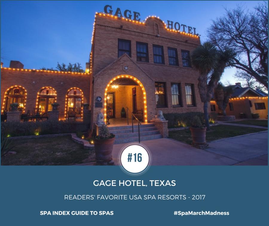 Gage Hotel, Texas