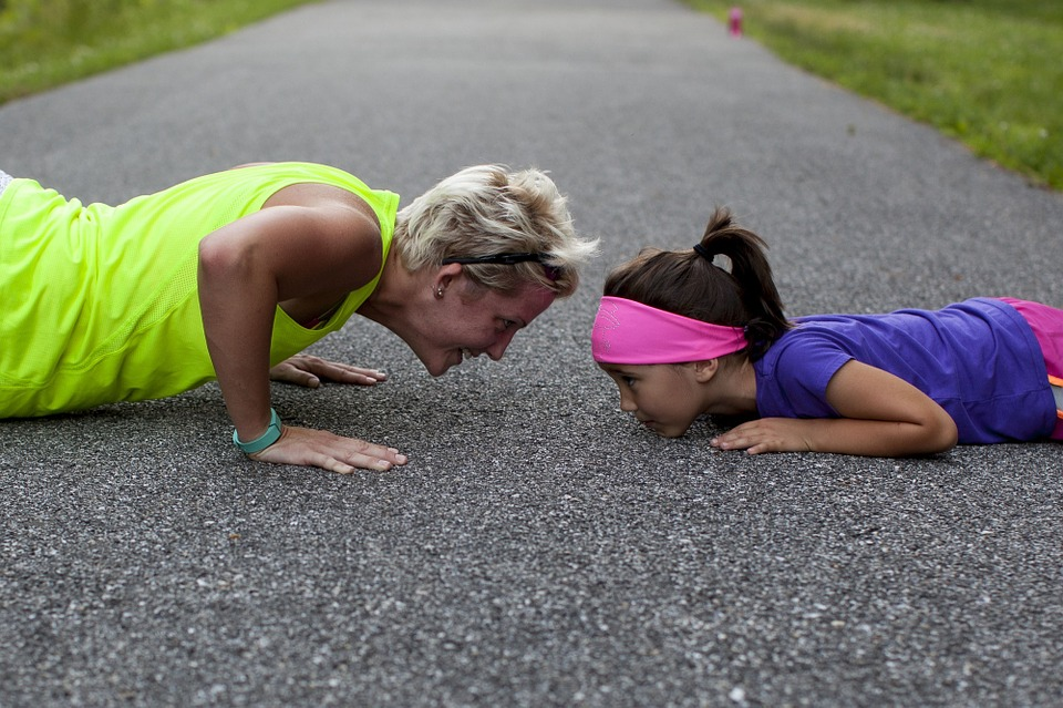 Getting in Shape with Kids