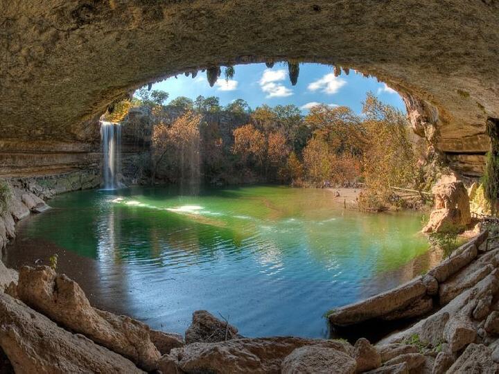 Hamilton Pool Preserve Texas