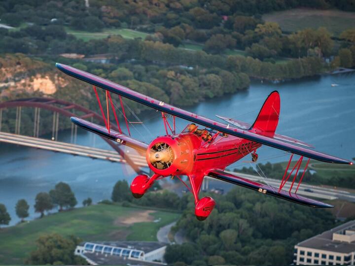 Austin Biplane Tours