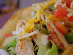 Canyon Ranch Spa Taco Salad