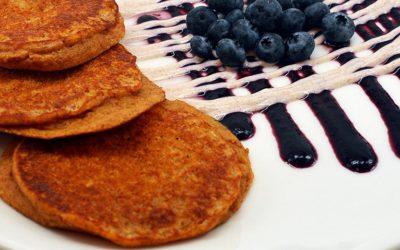Blueberry Sweet Potato Pancakes Recipe