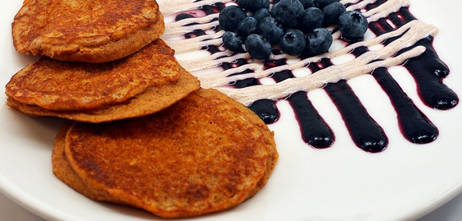 Pritikin Sweet Potato Pancakes