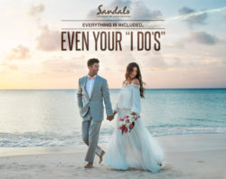 Free Weddings and Spa Treatments with a 3 Night Stay – Sandals Resorts, Caribbean