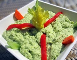 Pritikin Edamame Broccoli Dip – 45 Calories