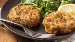 Pritikin Low Calorie Baked Crab Cakes