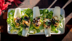 Bleu Cheese and Cherry Stuffed Endive  – Skyterra Recipe