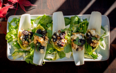 Bleu Cheese and Cherry Stuffed Endive Recipe