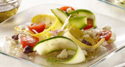 Greek Ribbon Squash Salad