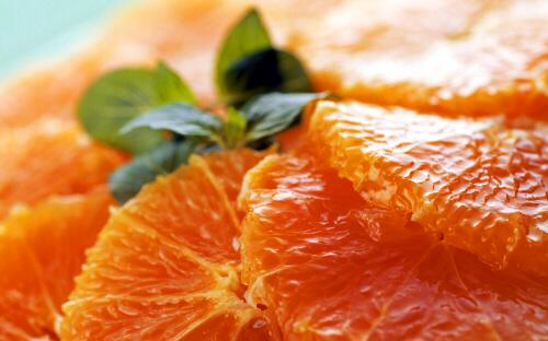 Orange Sections