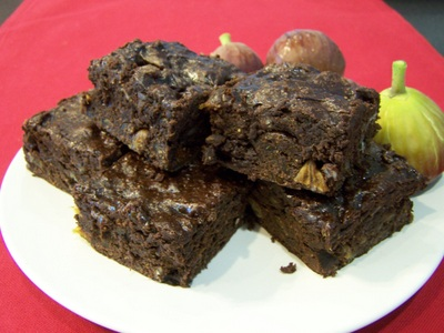 Fig-Brownies