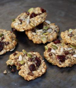 Miraval Trail Mix Cookies