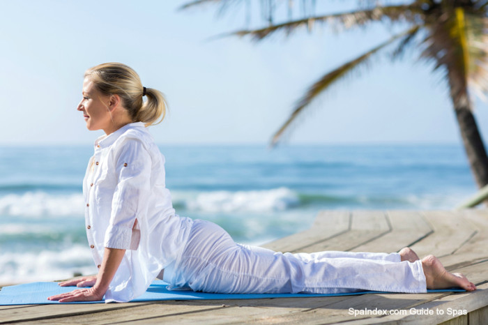 Yoga on the Beach | SpaIndex.com Guide to Spas