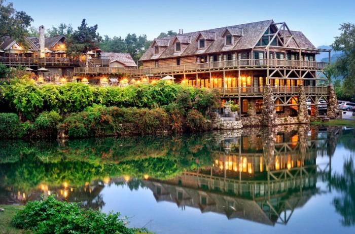 Big Cedar Lodge Spa And Marina Branson Missouri