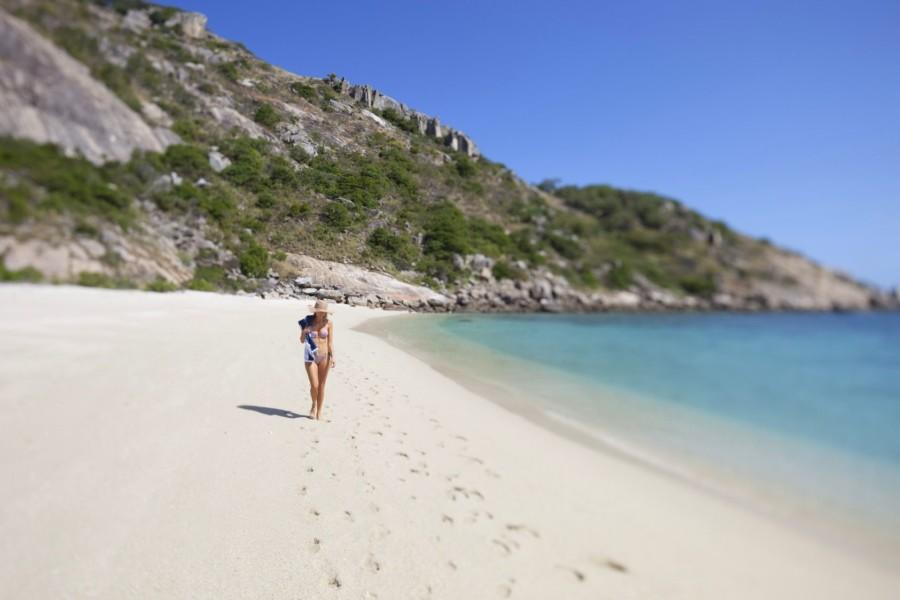 Lizard Island White Sand Beach