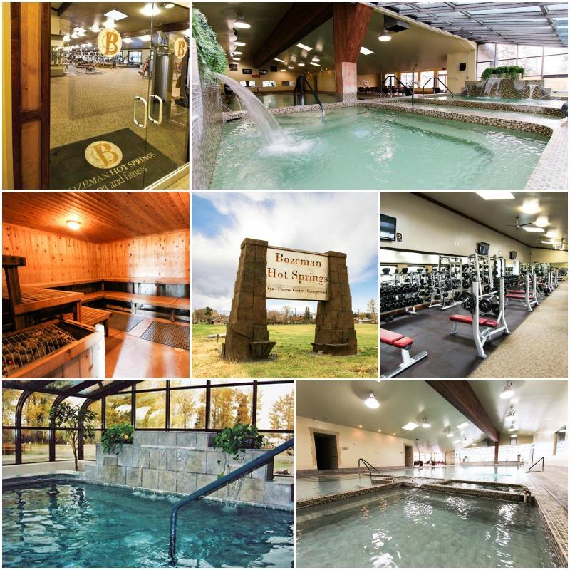 Bozeman Hot Springs Montana Fitness Center Sauna Pools